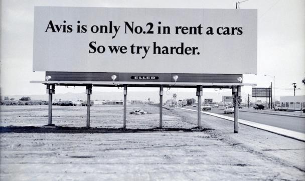 Avis — лишь №2 на рынке проката автомобилей Поэтому мы стараемся