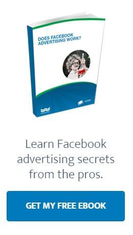 При чтении поста о Facebook-продвижении, посетитель видит оффер электронной книги о профессиональных секретах рекламы в этой социальной сети