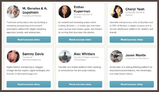 На сайте Clarity приводятся подлинные истории успеха реальных клиентов, написанные ими самими
