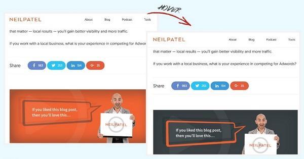 Блог Нила Патела (Neil Patel)
