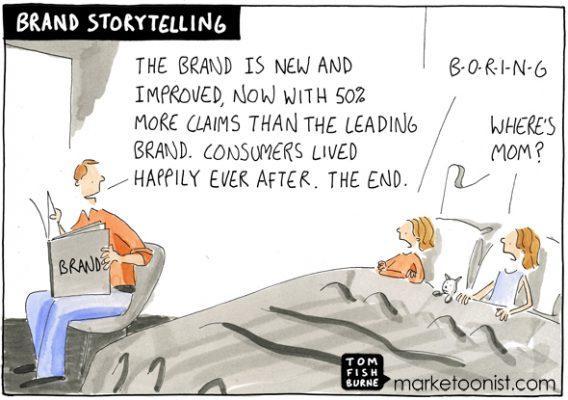 Сказка о бренде