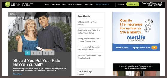 На сайте LearnVest's задается важный для любого родителя вопрос:«Должны ли вы ставить детей превыше себя?».