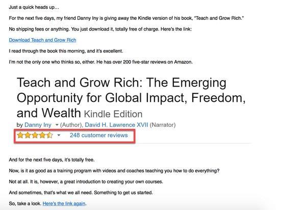 «Teach and Grow Rich» («Учи и стань богатым»)