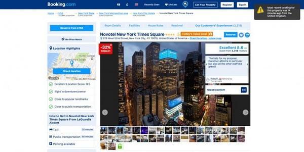 Как Booking.com использует срочность и дефицит