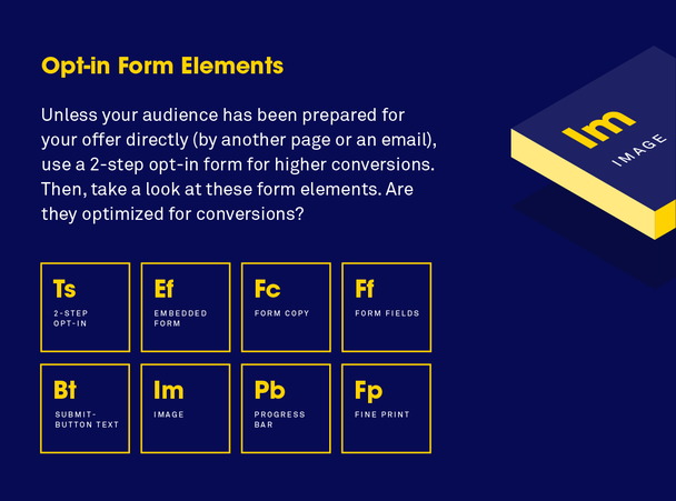 Элементы лид-форм: подтолкните пользователя к действию