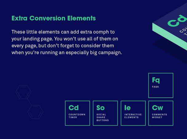 Дополнительные конверсионные элементы: маленькие хитрости для улучшения результатов