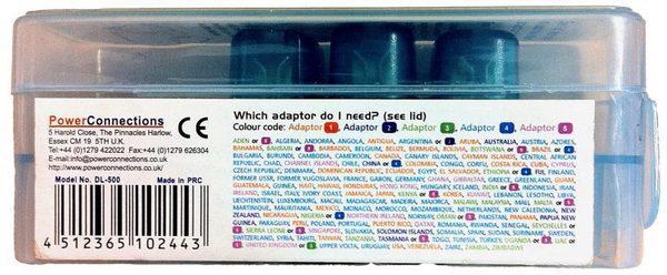 С помощью цвета удалось указать, какие адаптеры в каких странах следует использовать. Этого решения оказалось достаточно, чтобы свести на нет звонки от обеспокоенных клиентов.