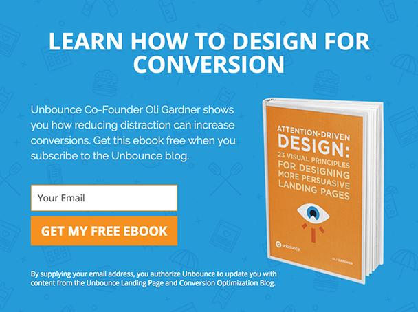 Узнайте, как проектировать для конверсии. Получите эту книгу бесплатно при подписке на обновления блога.