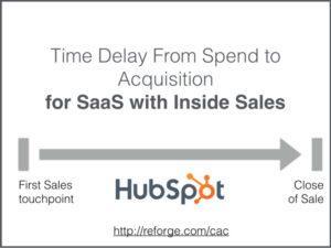 SaaS-компания с внутренними продажами