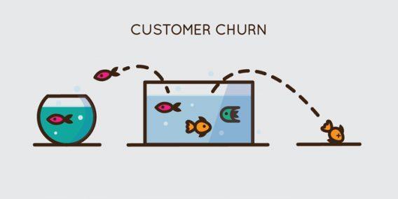 Отток клиентов (customer churn)