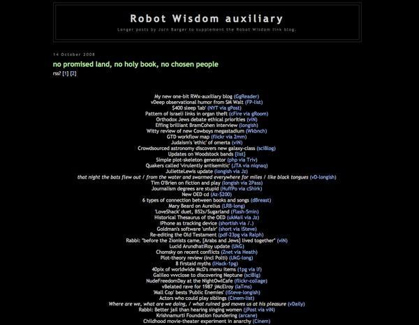 Robot Wisdom