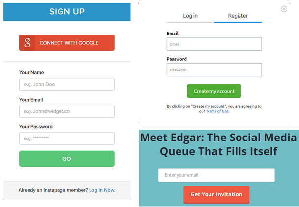 Короткие и экстра-короткие формы регистрации