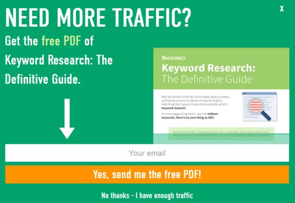 Нужно больше трафика? Получите бесплатный PDF с гайдом.