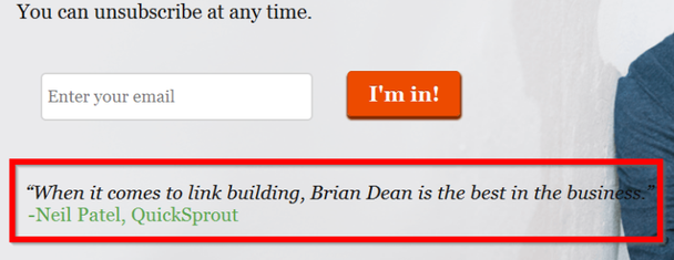 «Когда доходит до линкбилдинга (наращивание внешней ссылочной массы сайта, прим. ред.), Брайан Дин — лучший в этом деле».