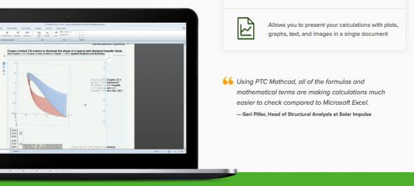 Вариант с положительным отзывом клиента о PTC Mathcad