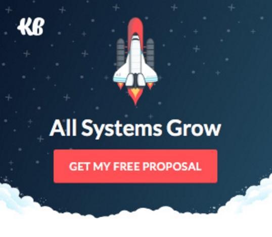 Реклама KlientBoost: «Получить бесплатное предложение». Последние два объявления предназначены для тех, кто хочет совершить покупку незамедлительно.