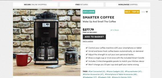 Умная кофе-машина