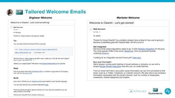 Вот как выглядят их новые оптимизированные email'ы