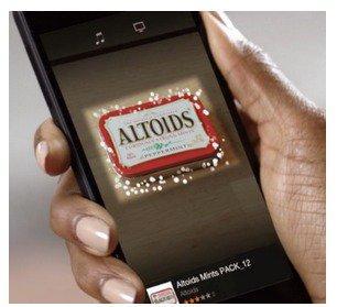 Amazon Firefly распознает упаковку мятных конфет