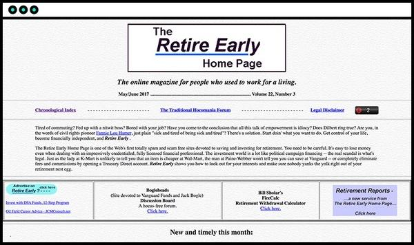 The Retire Early Home Page