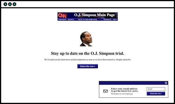 The OJ Simpson Trial (судебное дело О. Джей Симпсона)