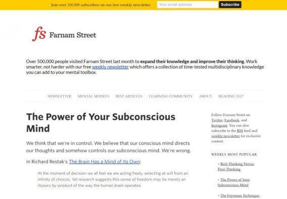 Блог Farnam Street