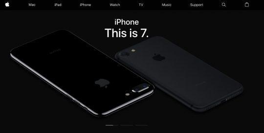 Домашняя страница iPhone 7
