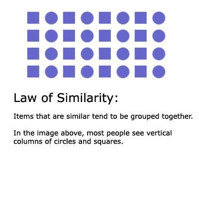 Закон сходства