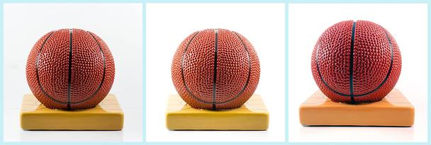 На картинке сверху вы видите игрушечный баскетбольный мяч, снятый на цифровую камеру (слева), то же изображение после редактирования (в центре), а также фото продукта, сделанное с помощью iPhone 5 (справа)