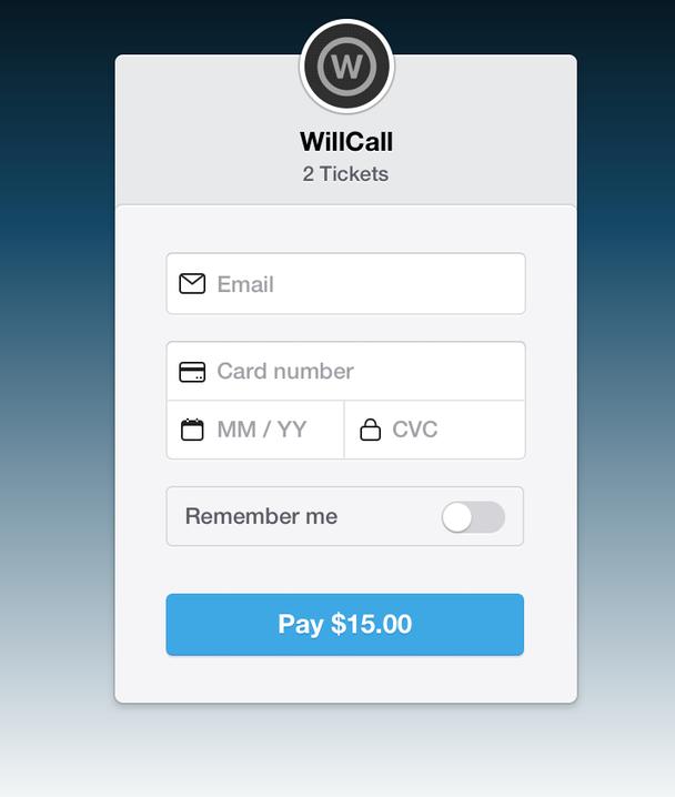 Checkout — платежная форма, которую разработчики могли легко вставить на свои сайты