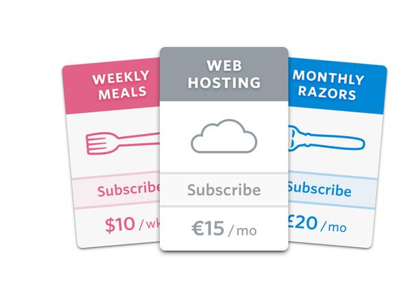 Subscriptions — движок для регулярных платежей