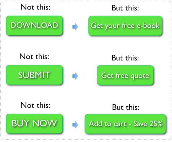 Текст на кнопке должен быть кратким, четким и мотивировать пользователя на совершение действия