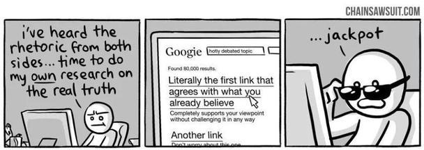 Иллюстрация к статье: Памятка по когнитивным искажениям для маркетологов