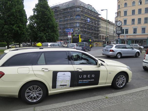 Иллюстрация к статье: Как двигатель Uber набирает обороты