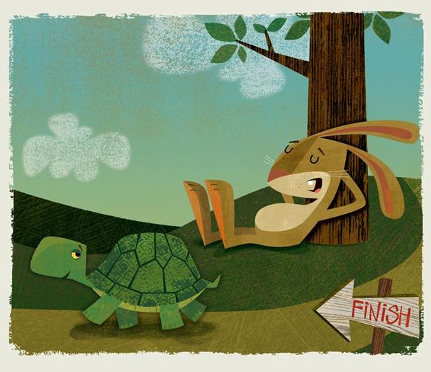 Иллюстрация к статье: Как стать единорогом, обогнавшим черепаху (и зайца)?