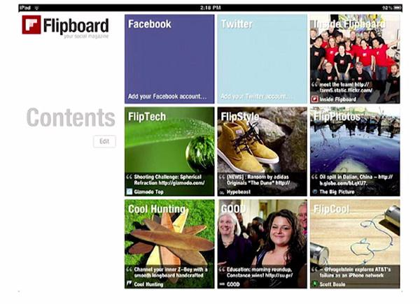 Сервис Flipboard