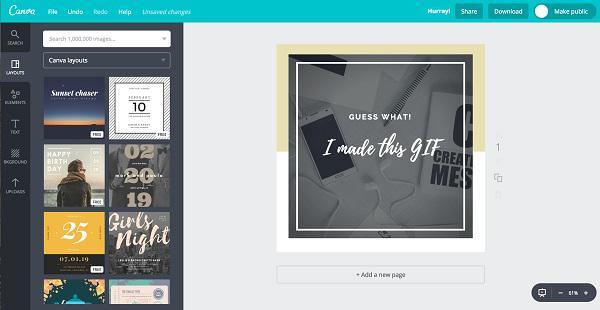 Второй слой GIF-изображения