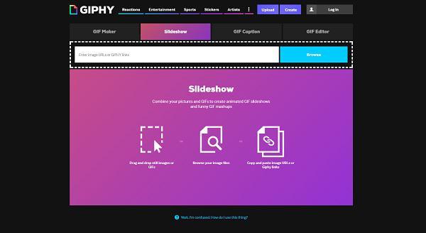 Онлайн-сервис GIPHY