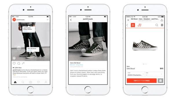 Возможность сделать покупку прямо из Instagram делает пользовательский опыт более персонализированным и гладким