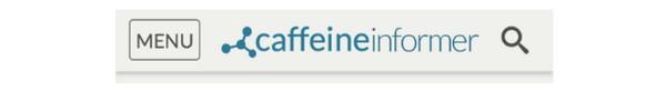 Caffeine Informer — иконка-меню