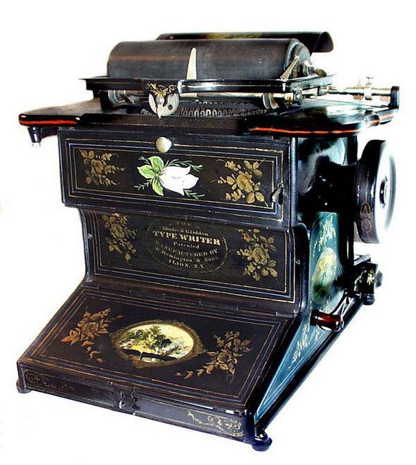 «Пишущая машинка Шуолза и Глиддена» (Sholes and Glidden typewriter)