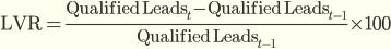 Скорость ежемесячного прироста лидов (Lead Velocity Rate)