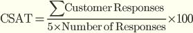 Индекс удовлетворенности клиентов (Customer Satisfaction Score, CSAT)