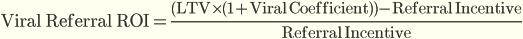 Вирусный реферальный ROI (Viral Referral ROI)