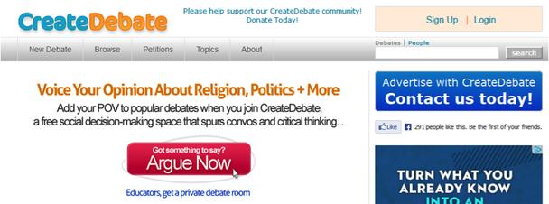 CreateDebate.com