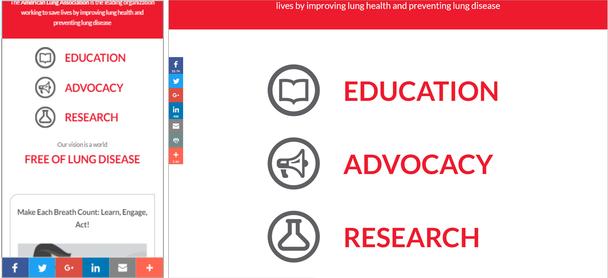 Сайт Американской ассоциации пульмонологов