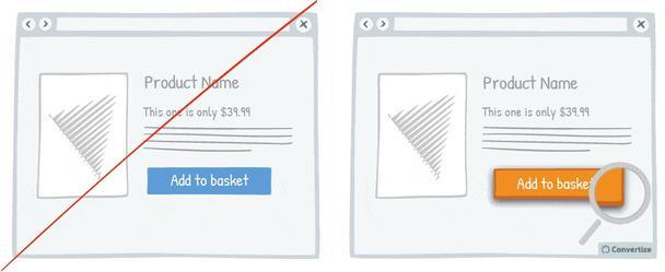 Добавляйте в свои CTA визуальную глубину посредством использования границ