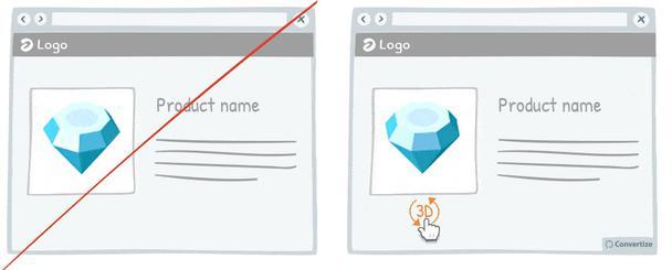 Используйте интерактивные изображения, а не статические