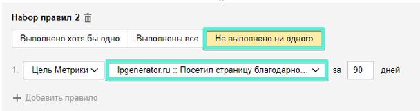Ретаргетинг Яндекс