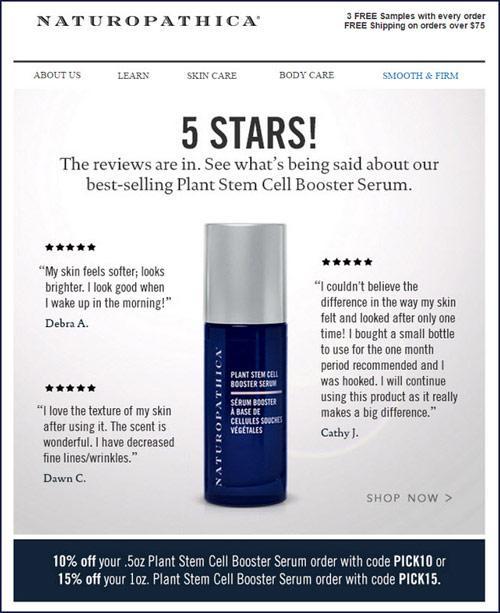 5 звезд! Здесь вы найдете все отзывы. Посмотрите, что покупатели говорят о самом продаваемом креме Plant Stem Cell Booster Serum.